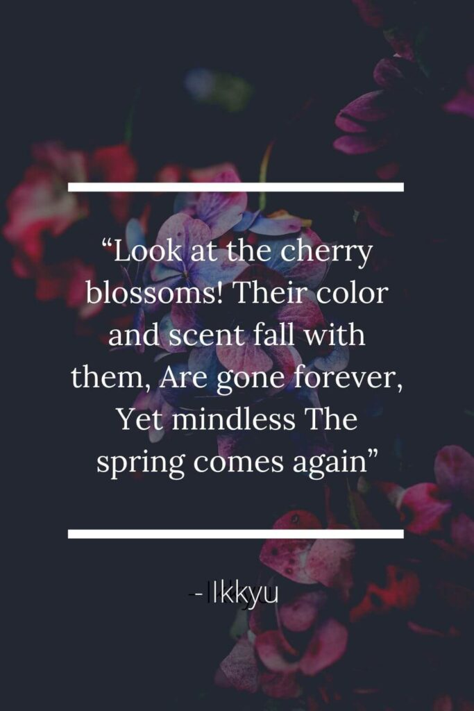"""Loveliest of trees the cherry now Is hung with bloom along the bough"""" 3"""