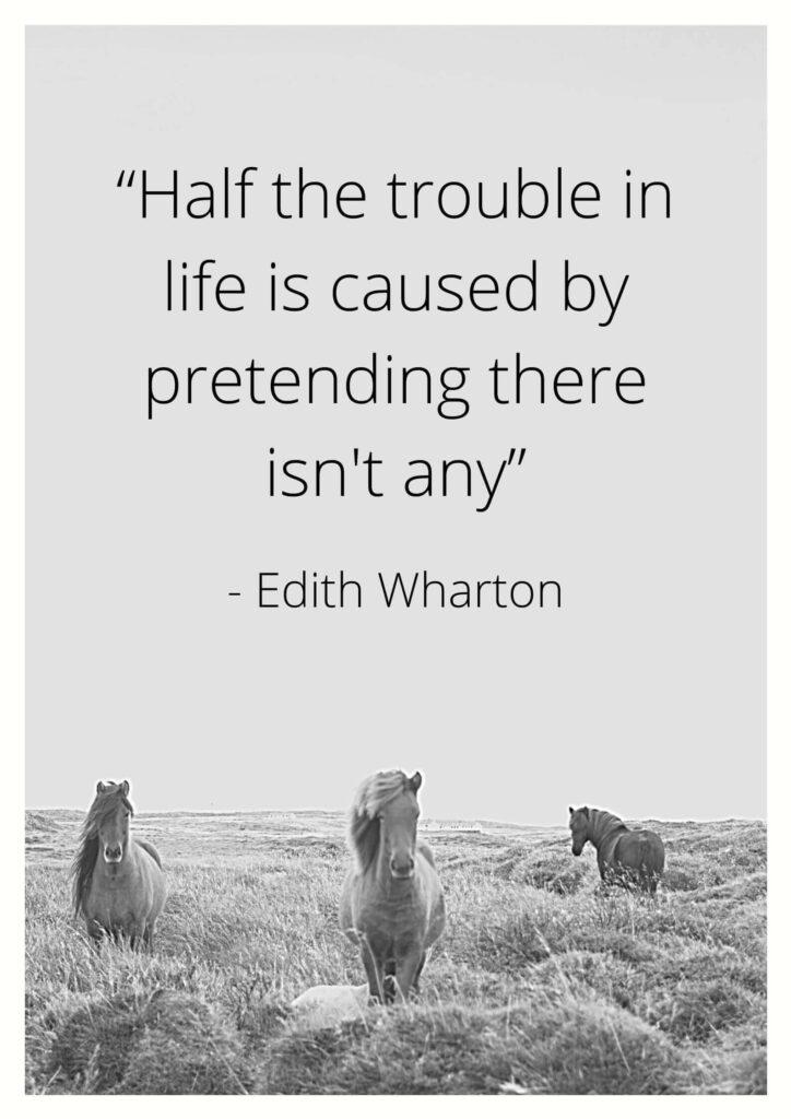 edith wharton quotes on love