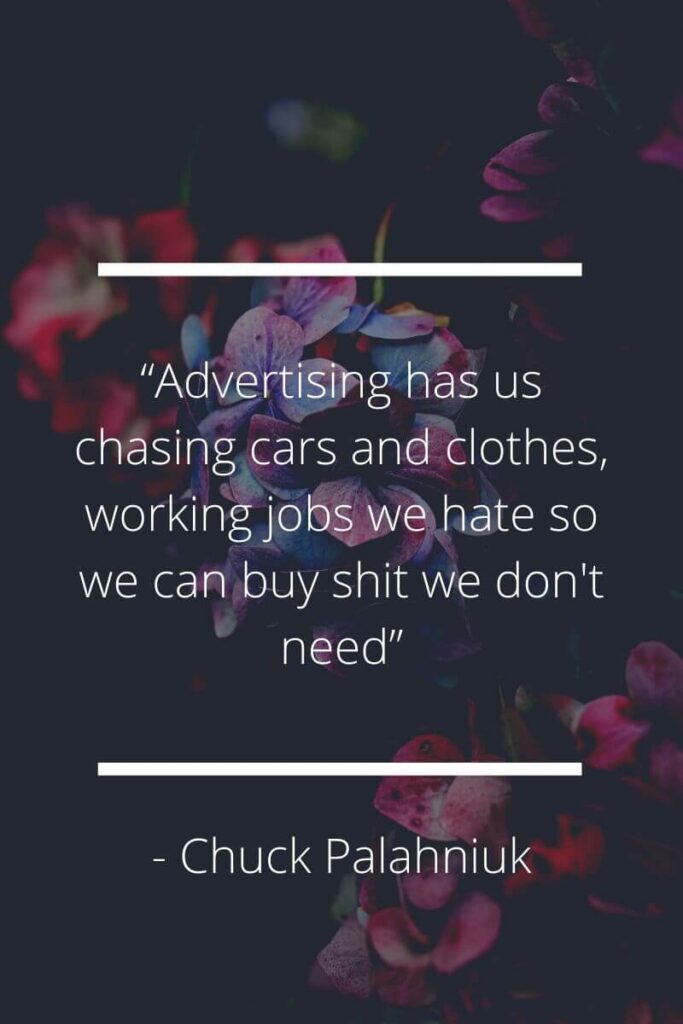 funny materialistic quotes