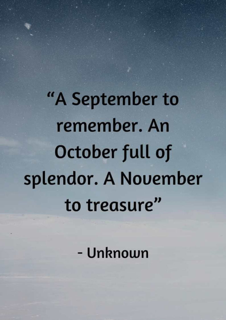 quotes about november girl