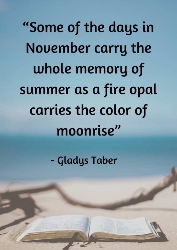 quotes about november rain