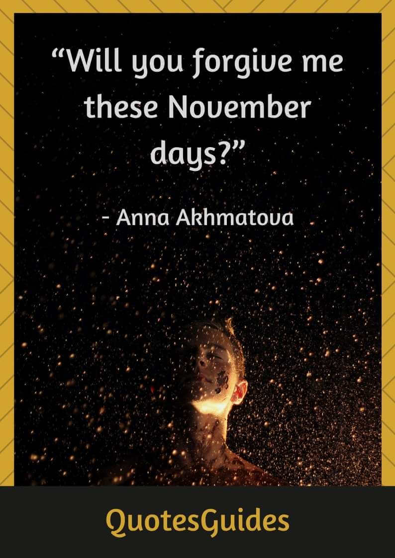 quotes about november