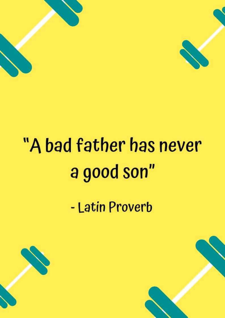 quotes for irresponsible father