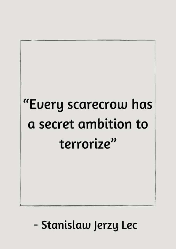 scarecrow quotes for you
