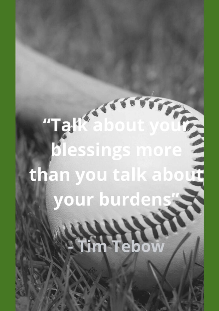 tim tebow inspirational quotes