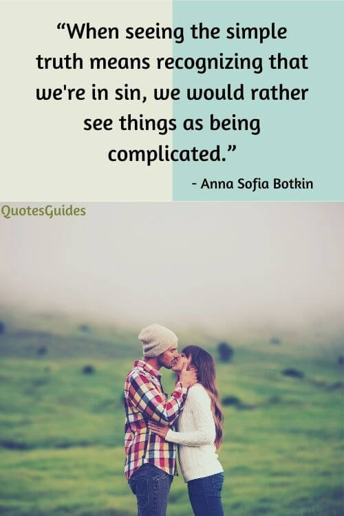 complicated relationship status quotes