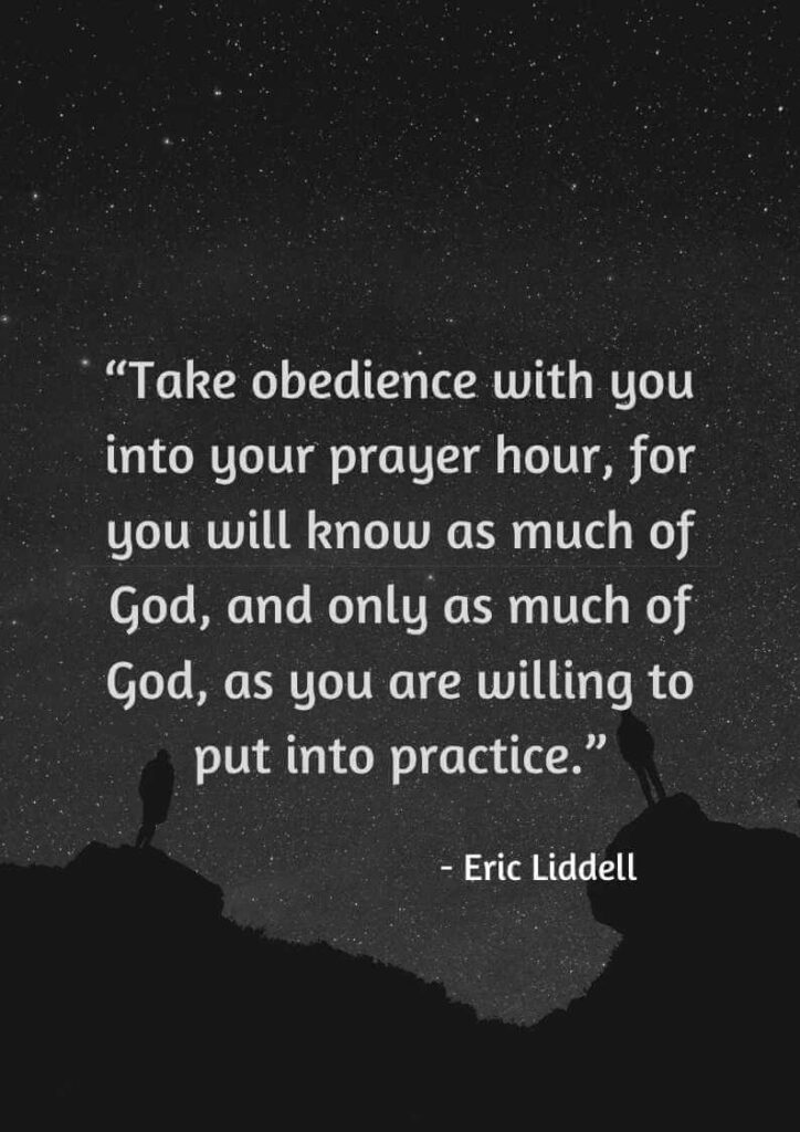 eric liddell quotes for god