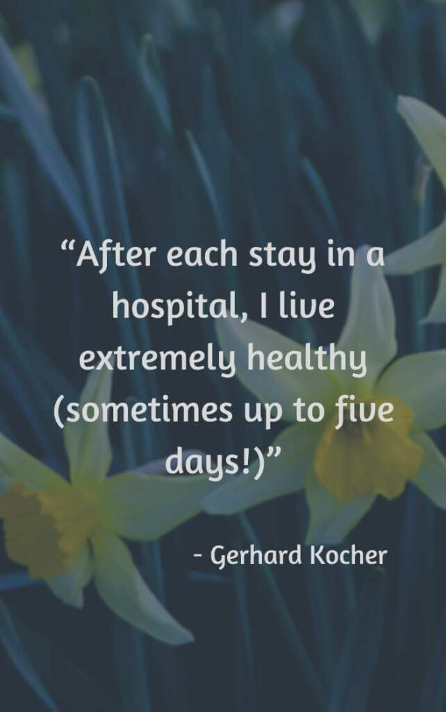 inspirational quotes for someone in the hospital