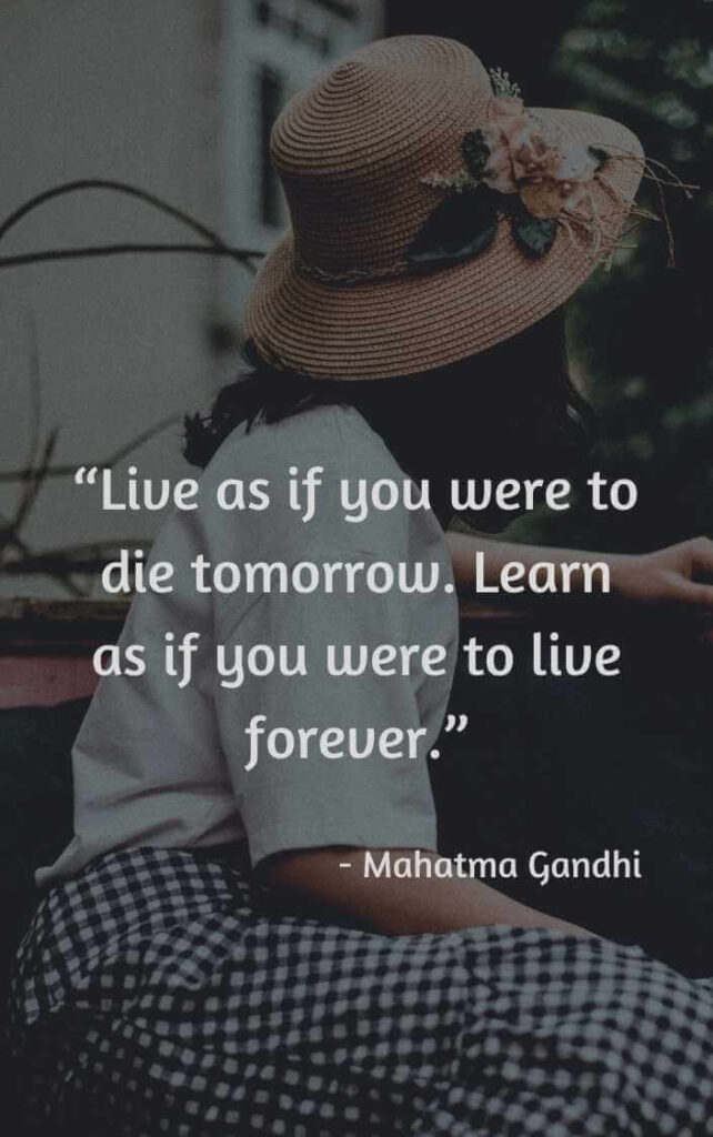 live for today tomorrow is not promised quotes