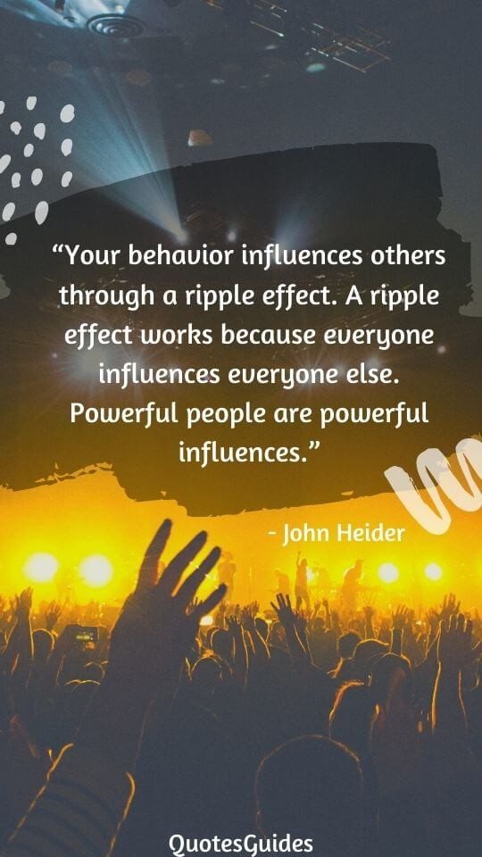 positive ripple effect quotes