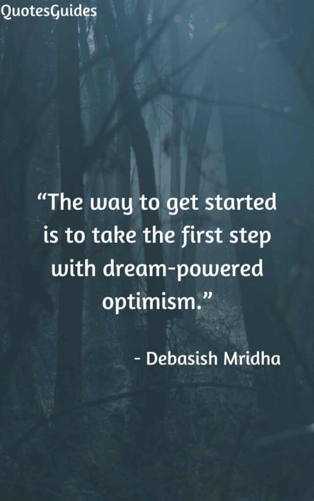 quotes about the first step in a journey