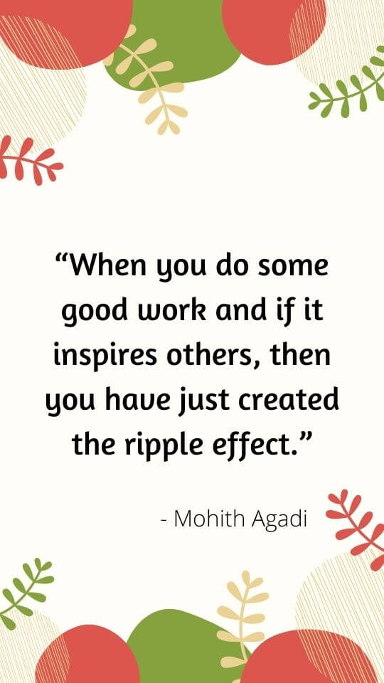 quotes ripple effect your actions
