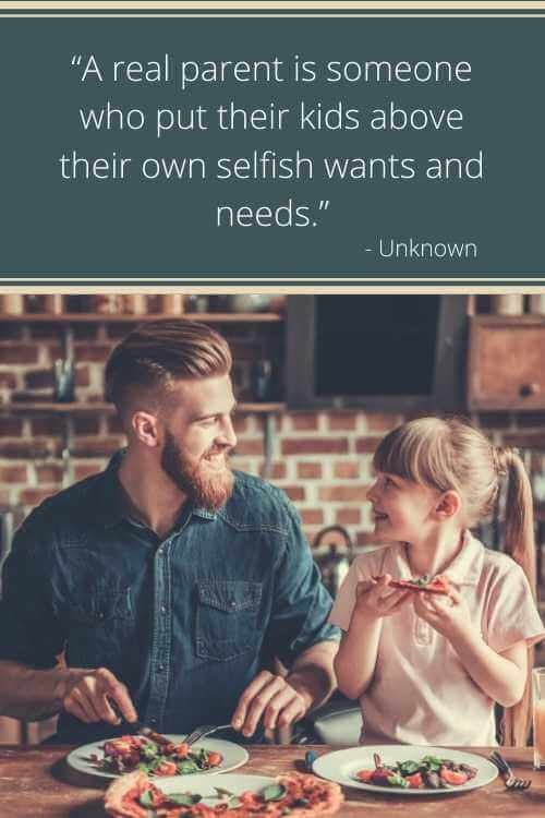 selfish husband and father quotes