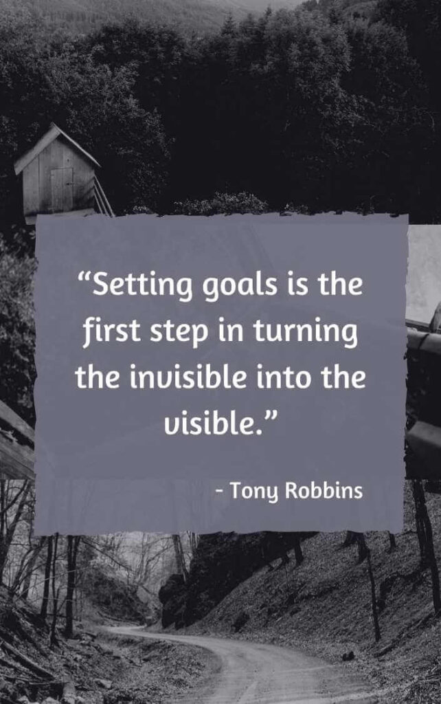 taking the first step quotes