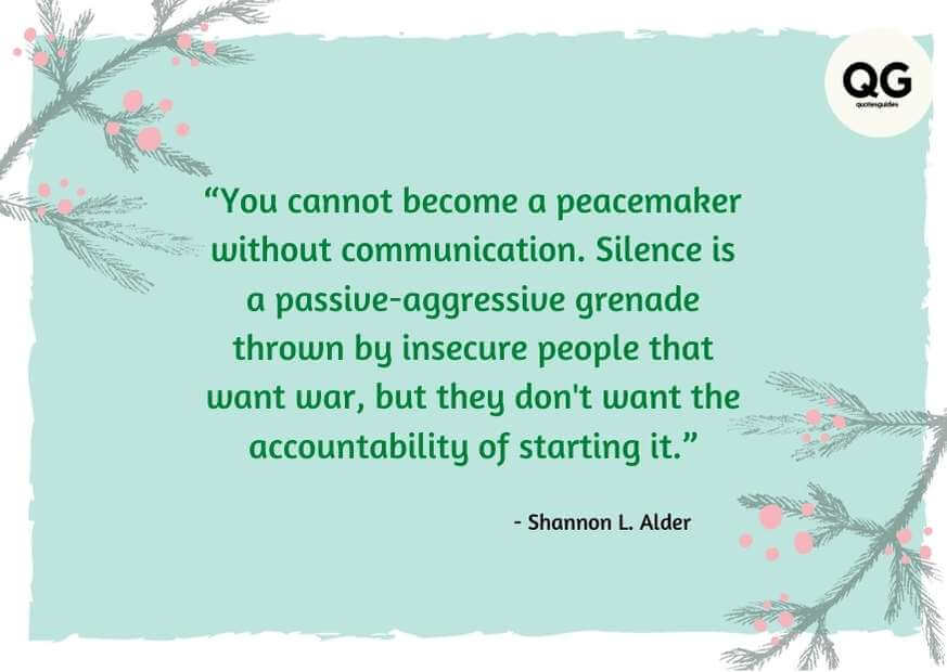 blessed are the peacemakers quotes