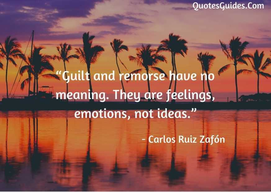 i feel guilty for my mistakes quotes