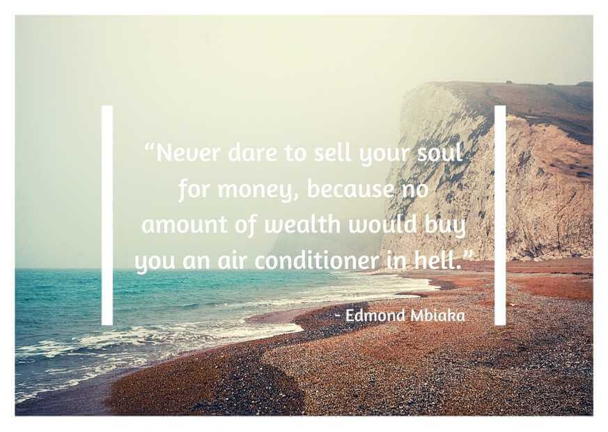 quotes about not selling your soul