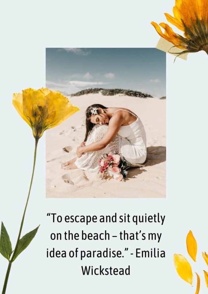 crystal clear beach quotes