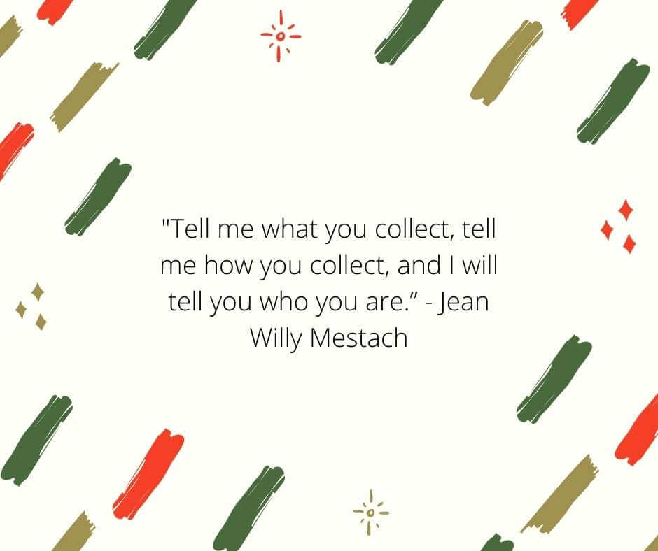 art collecting quotes