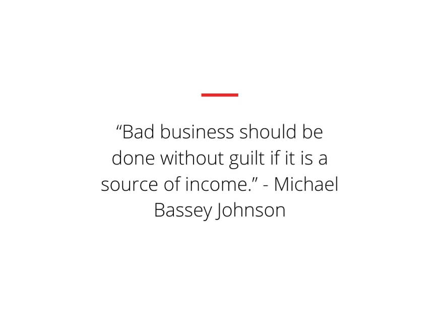 bad business owner quotes
