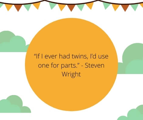 blessed with twin babies quotes