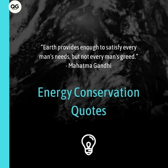 energy conservation quotes