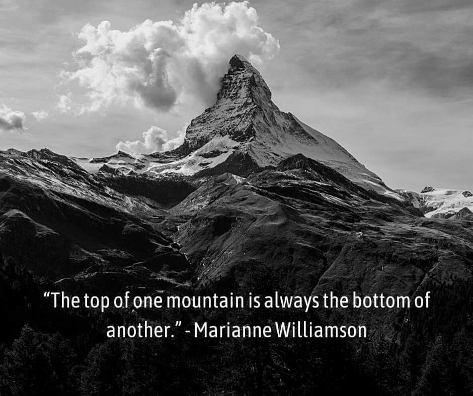 funny mountain quotes