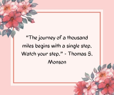 journey of love quotes images