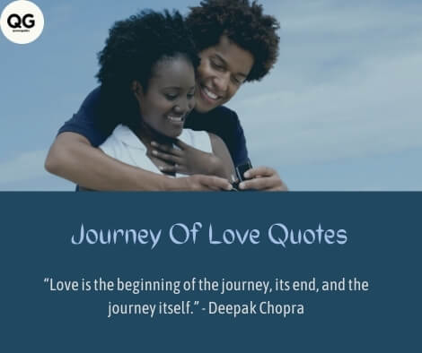 journey of love quotes