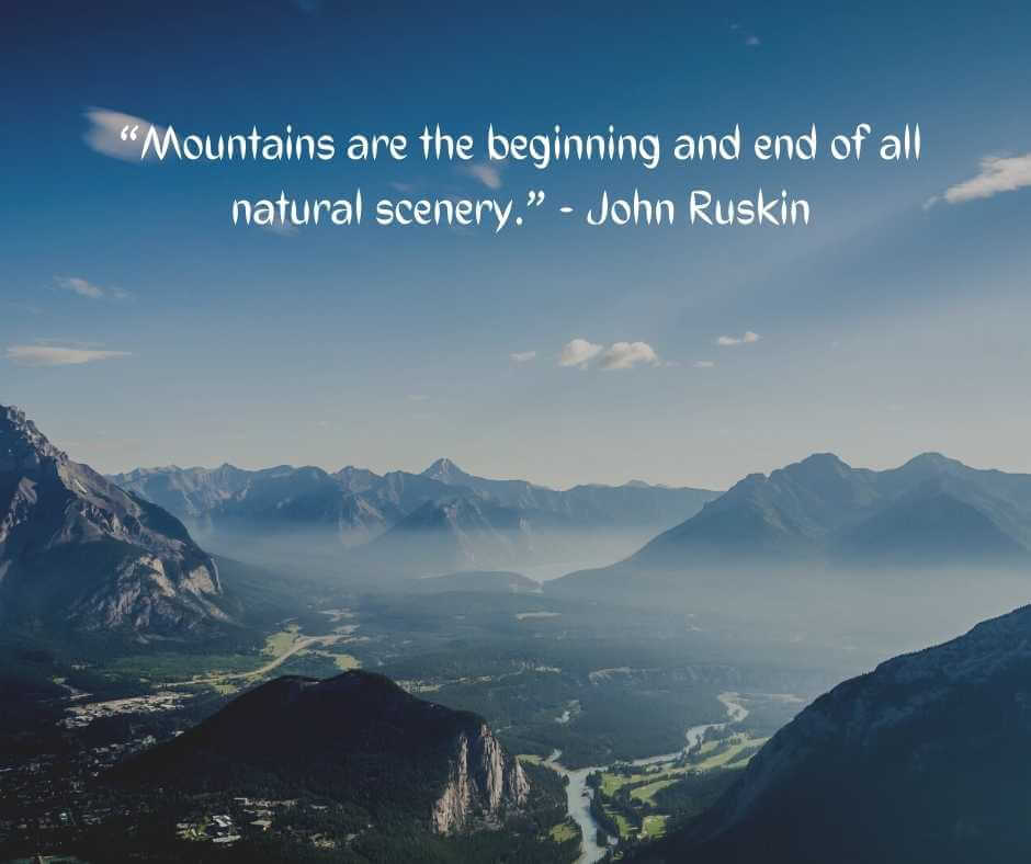 quotes about mountains and clouds