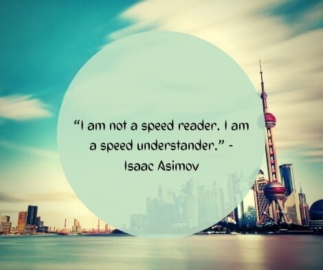 speed reading quotes for you