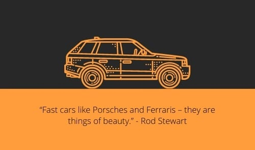 luxury car quotes for car lovers