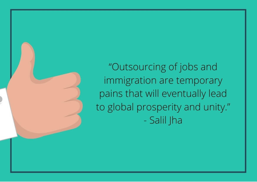 negative quotes about outsourcing