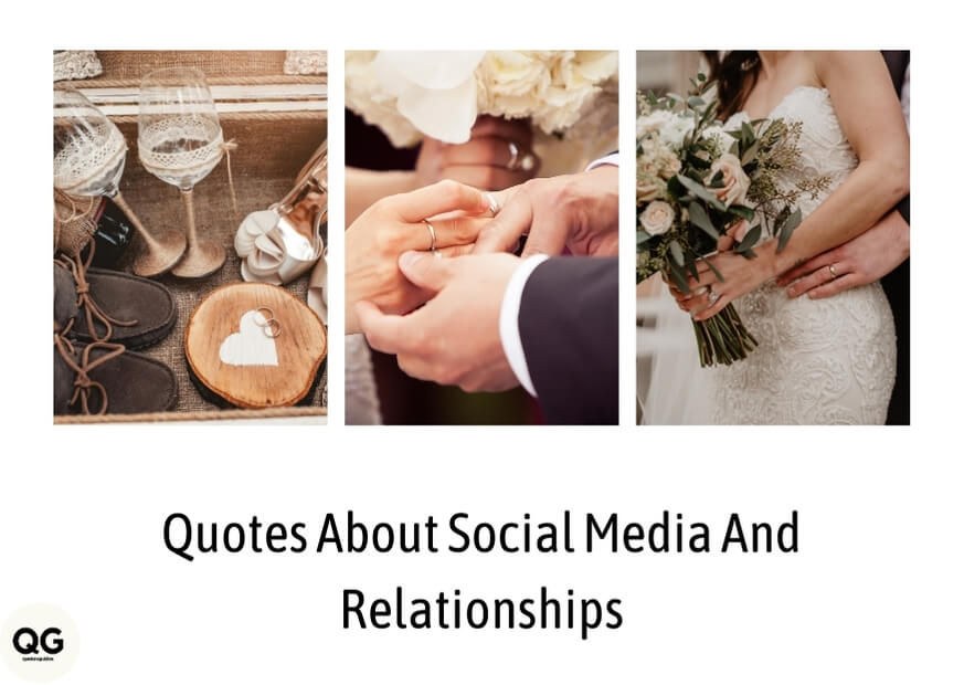 quotes about social media and relationships images