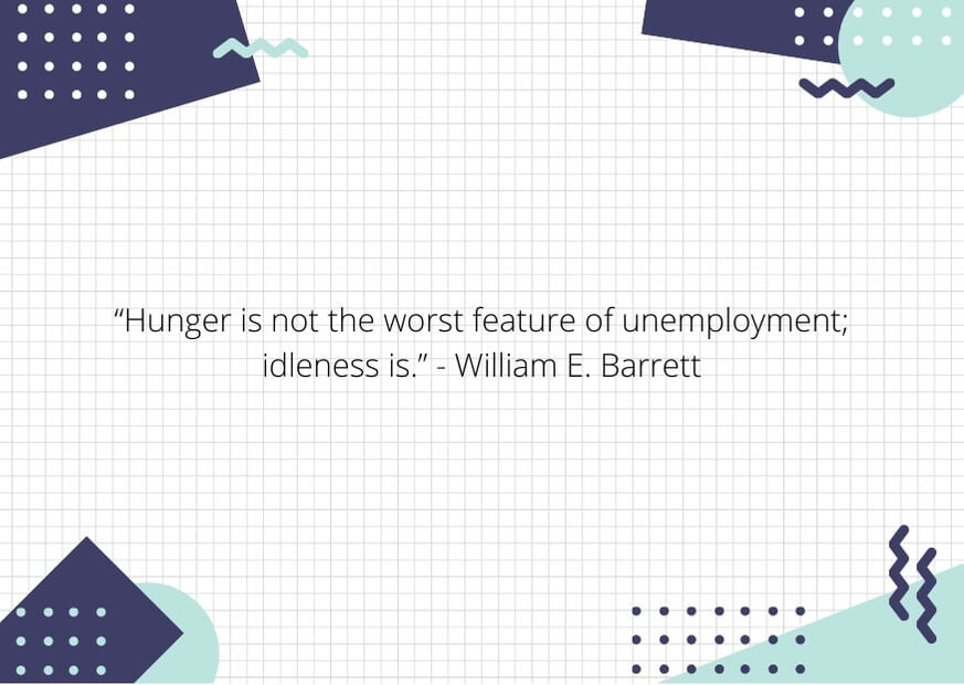 unemployment quotes from the great depression
