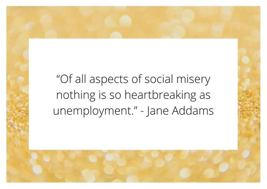 youth unemployment quotes
