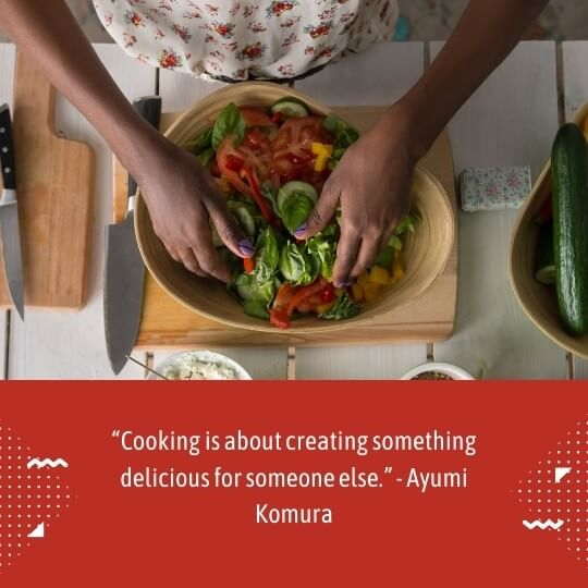 cooking is my passion quotes