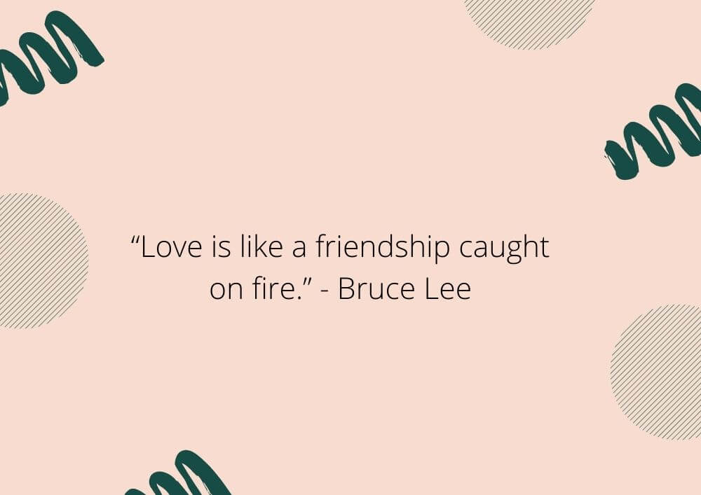quotes about fire and love