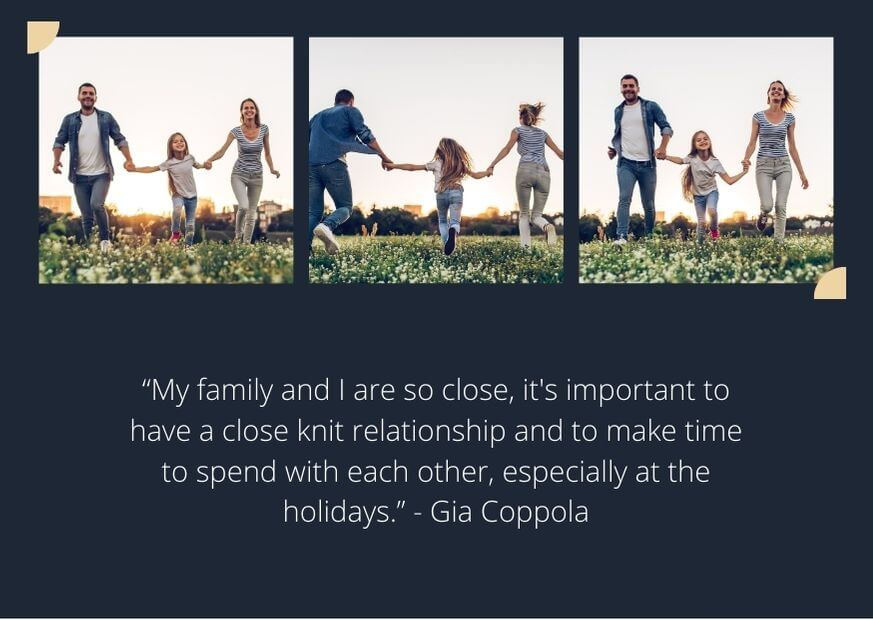 quotes about holidays without family