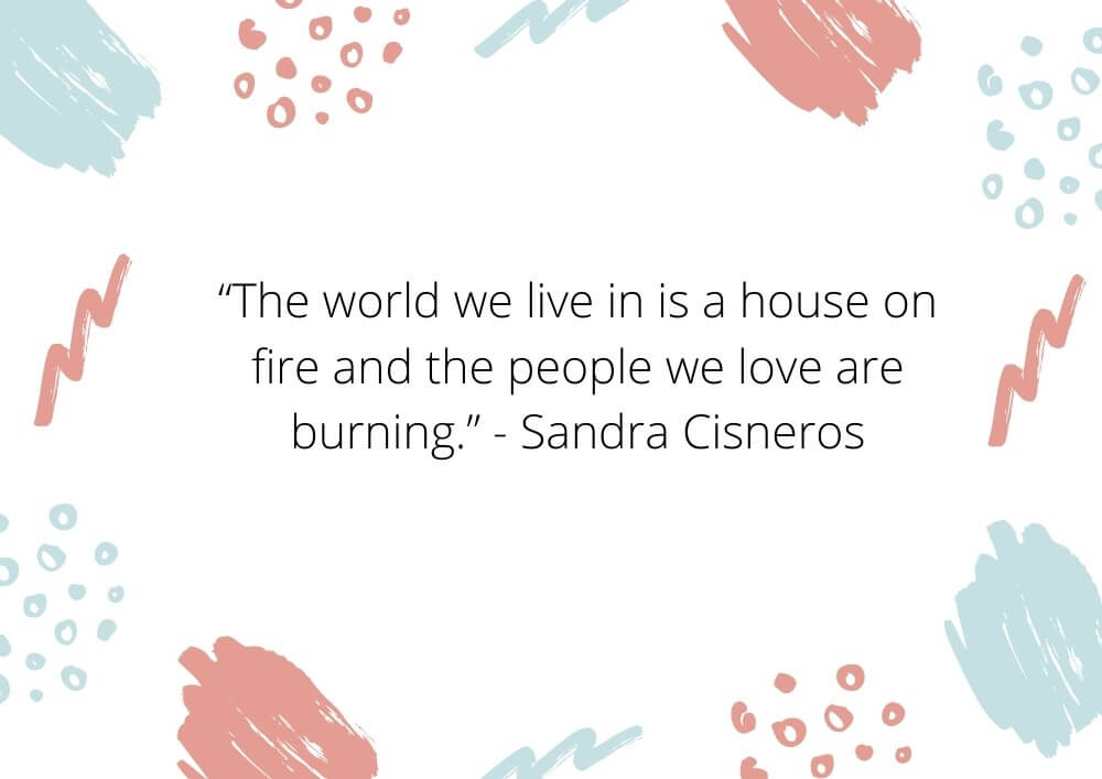 quotes on burning fire